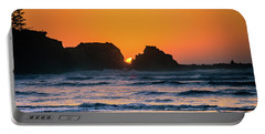Portable Battery Charger featuring the photograph Oregon Sunset by Bryan Carter