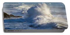 Portable Battery Charger featuring the photograph Oregon Surf by Dennis Bucklin