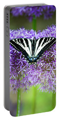 Portable Battery Charger featuring the photograph Oregon Swallowtail by Bonnie Bruno