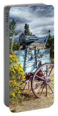 Oregon Wagon, Fine Art Photograph Portable Battery Charger by Greg Sigrist