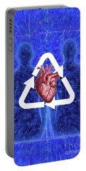 Organ Donation Portable Battery Charger