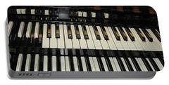 Hammond Organ Keys Portable Battery Charger