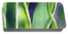 Organic Abstract By Nature II Portable Battery Charger
