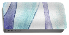 Organic Abstract By Nature IIi Portable Battery Charger
