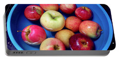 Organic Apples Portable Battery Charger