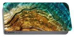 Organic Flow Portable Battery Charger by Caryl J Bohn