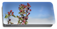 Organic Handpicked Home Orchard Raspberries,blackberries From Bu Portable Battery Charger