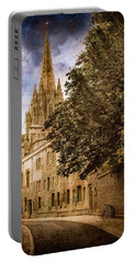 Oxford, England - Oriel Street Portable Battery Charger