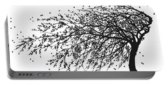 Oriental Foliage Portable Battery Charger by Gina Dsgn