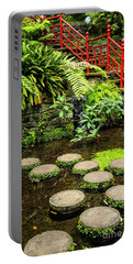 Oriental Garden Stepping Stones Portable Battery Charger