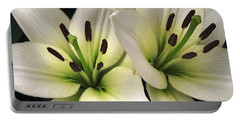 Oriental Lily Named Endless Love Portable Battery Charger