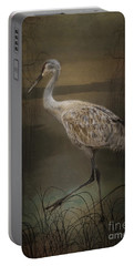 Oriental Sandhill Crane Portable Battery Charger