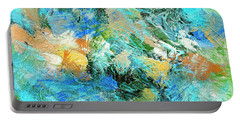 Portable Battery Charger featuring the painting Orinoco by Dominic Piperata
