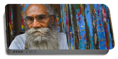 Portable Battery Charger featuring the photograph Orizaba Painter by Skip Hunt