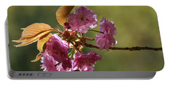 Ornamental Cherry Blossoms - Portable Battery Charger