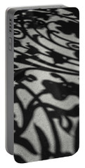 Ornate Shadows Portable Battery Charger by KG Thienemann