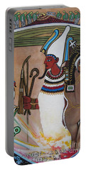 Osiris With Goddess Isis And 4 Grandkids Portable Battery Charger