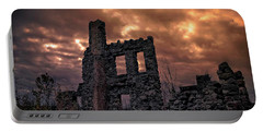 Osler Castle Portable Battery Charger by Michaela Preston