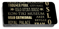 Oslo Famous Landmarks Portable Battery Charger