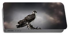 Portable Battery Charger featuring the photograph Osprey by Chrystal Mimbs