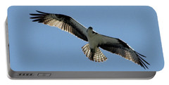 Osprey In Flight Portable Battery Charger by Robert Banach