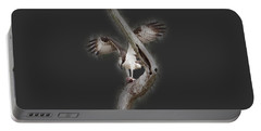 Portable Battery Charger featuring the photograph Osprey Tee-shirt by Donna Brown
