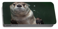 Otter Against The Glass Portable Battery Charger