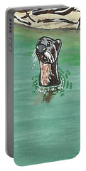 Otter In Amazon River Portable Battery Charger