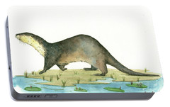 Otter Portable Battery Charger by Juan Bosco