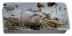 Otter On Seaweed Portable Battery Charger