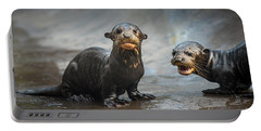 Otter Pup Pair Portable Battery Charger