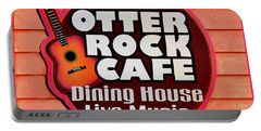 Otter Rock Cafe Morro Bay California Portable Battery Charger
