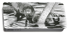 Otters Three Portable Battery Charger