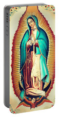 Our Lady Of Guadalupe Portable Battery Charger