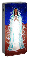 Our Lady Of Lucid Dreams Portable Battery Charger