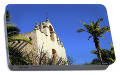 Portable Battery Charger featuring the photograph Our Lady Of Mount Carmel - Montecito by Art Block Collections