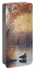 Sanctuary, Canadian Geese Portable Battery Charger