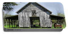 Out By The Barn Portable Battery Charger by Laura Ragland