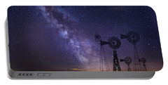 Our Milky Way  Portable Battery Charger