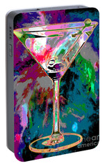 Out Of This World Martini Portable Battery Charger by Jon Neidert