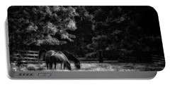 Out To Pasture Bw Portable Battery Charger