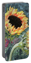 Outdoor Sunflowers Portable Battery Charger