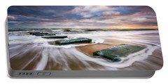 Outer Banks North Carolina Beach Sunrise Seascape Photography Obx Nags Head Nc Portable Battery Charger