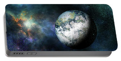 Outer Space The Final Frontier Portable Battery Charger