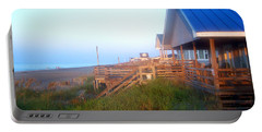 Portable Battery Charger featuring the photograph Outerbanks Sunrise At The Beach by Sandi OReilly