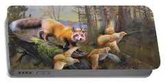 Outfoxed Portable Battery Charger