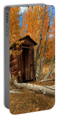 Outhouse In The Aspens Portable Battery Charger