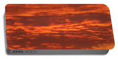 Outrageous Orange Sunrise Portable Battery Charger