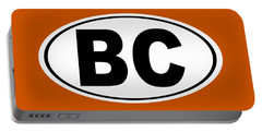 Portable Battery Charger featuring the photograph Oval Bc Boulder City Colorado Home Pride by Keith Webber Jr