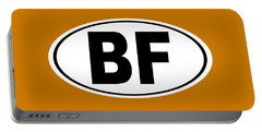 Portable Battery Charger featuring the photograph Oval Bf Beaver Falls Pennsylvania Home Pride by Keith Webber Jr